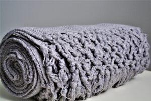 Cotton Slub - Grey by fabhome
